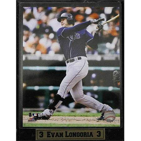 MLB Evan Longoria Photo Plaque, 9x12 - Evan Longoria Mlb