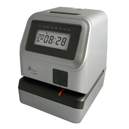 Pyramid Electronic Document Time Recorder (David-Link Fingerprint USA S-3000 Electronic Time Recorder- Document Stamp )