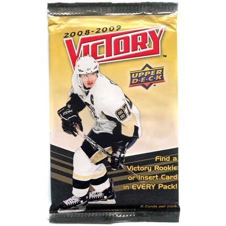 NHL 2008-2009 Victory Hockey Trading Card Pack Victory Common Card