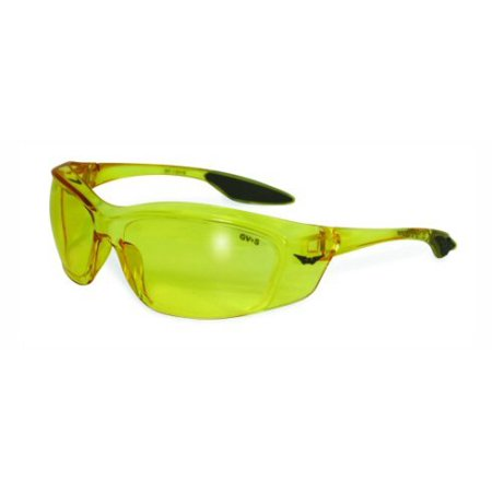 Forerunner Safety Glasses Clear, Smoke, Yellow Tint OR Flash Mirrored Lenses Basic Lens Color: Yellow Tint