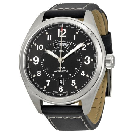 Khaki Field Automatic Black Dial Mens Watch (Khaki Field Automatic Black Dial)