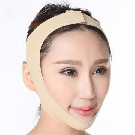 Face-Lift Bandage, V Face Belt Face Slimming Mask V Face Line Belt Cheek Slim Anti Wrinkle Mask Slimming Bandages Breathable for