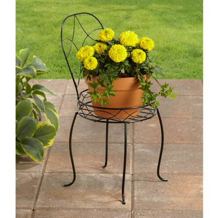 Better Homes And Gardens 10 Iron Chair Plant Stand At