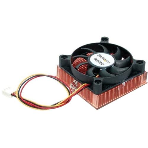 StarTech.com 1U 60x10mm Socket 7/370 CPU Cooler Fan