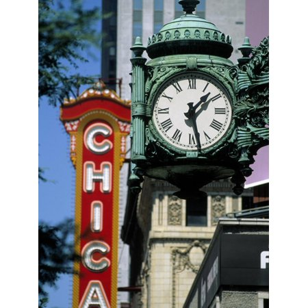 Landmarks on Two State St, Chicago, IL Print Wall Art By Bruce