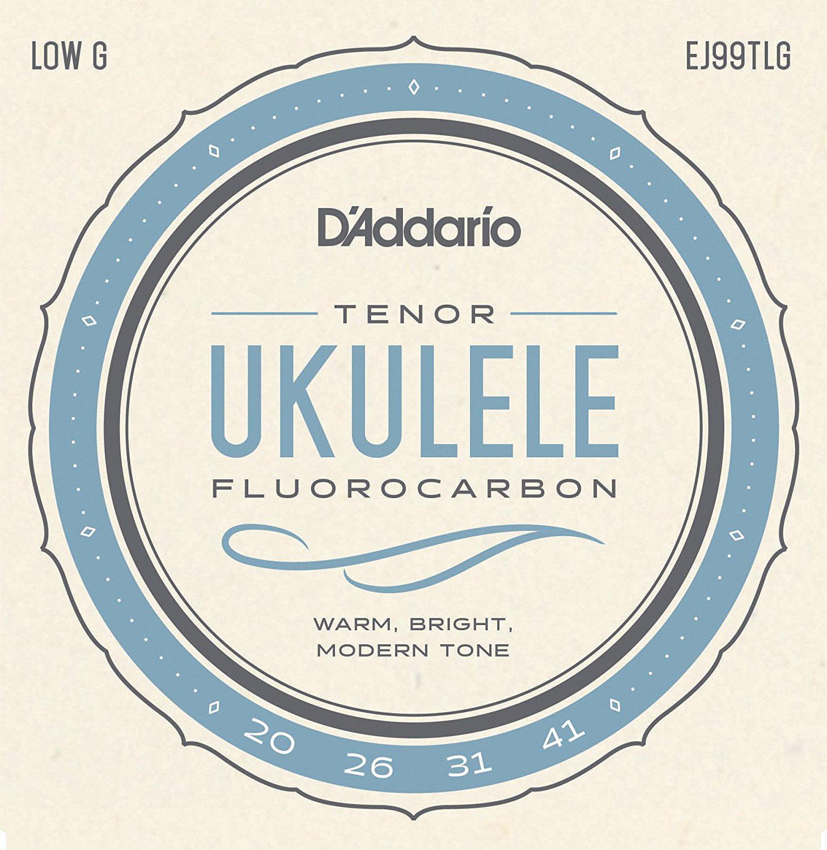 EJ99TLG Pro-Arté Carbon Ukulele Strings, Tenor Low G, Optimized for Tenor Ukuleles tuned... by