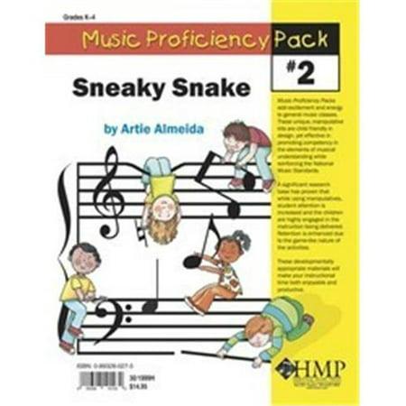 (Music Proficiency Pack #2 - Sneaky Snake - Artie Almeida - SongBook - 301999H)
