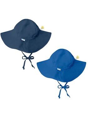 324f6976271 Product Image i play Baby and Toddler Brim Sun Protection Hat-Navy Blue and  Royal Blue -