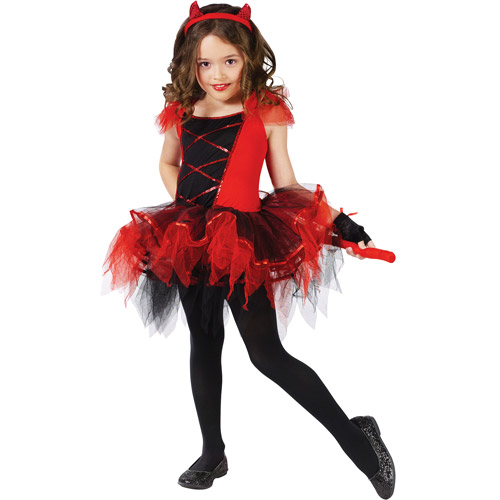 Devilina Child Halloween Costume