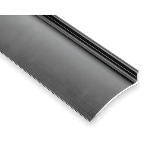 PEMKO 346C40 Drip Door Edge, Clear Anodized, 40 In.