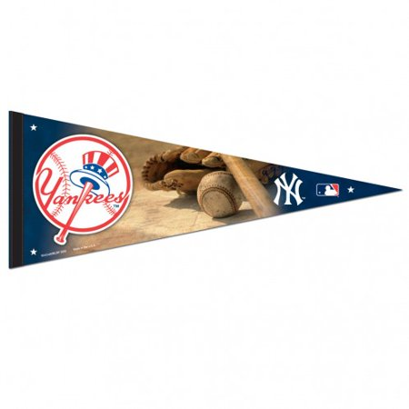 (New York Yankees Ball and Glove Premium Pennant)