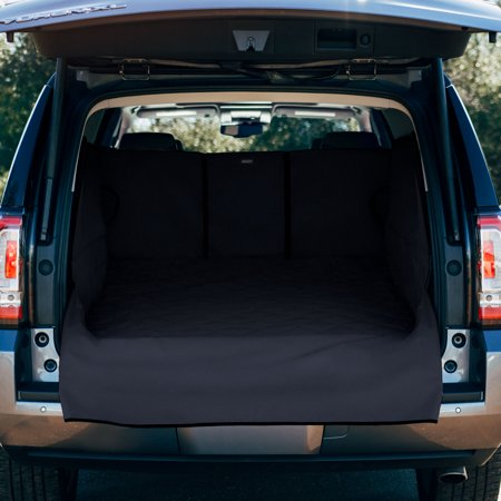 FrontPet Extra Wide and Extra Long Quilted Dog Cargo Cover for SUV Universal Fit for Any Animal. Durable Liner Covers and Protects Your Vehicle, Extended Width, XXL,