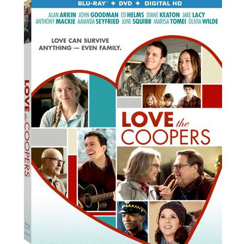 Love The Coopers (Blu-ray + DVD + Digital HD) (With INSTAWATCH)