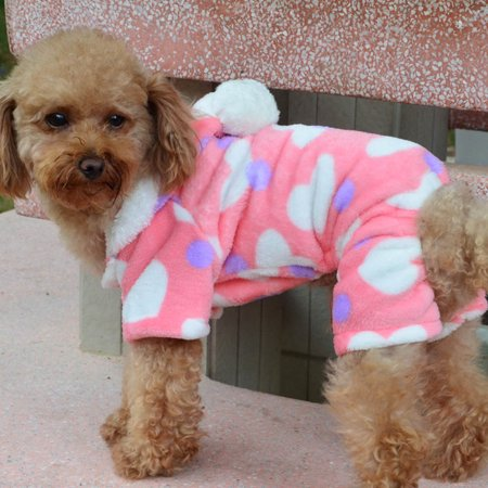 Pet Puppy Dog Cat Clothes Hoodie Coat Jumpsuit Costume Apparel (Cat Jumpsuit Costume)