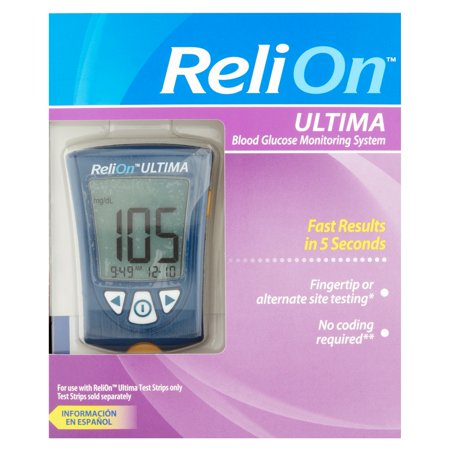 how to use relion micro blood glucose meter