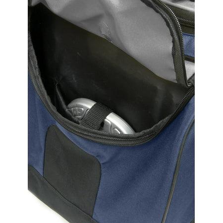 "Travelers Club 28"" Jumbo Multi-Pocket Duffel - Blue 3"