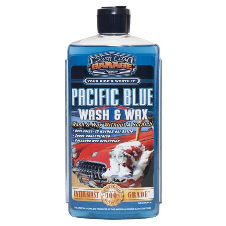Surf City Garage 131 Pacific Blue Wash   Wax 16Oz