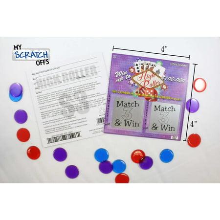 Halloween Scratch Off Tickets (