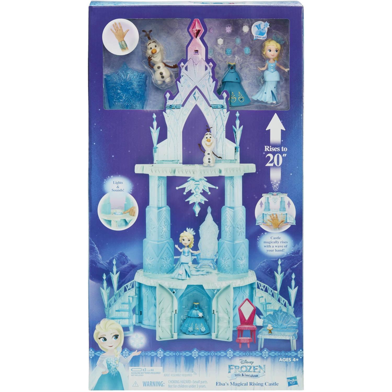 Disney Frozen Little Kingdom Elsau0027s Magical Rising Castle   Walmart.com