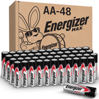 Energizer MAX AA Batteries, Alkaline Double A Batteries (48 Pack)