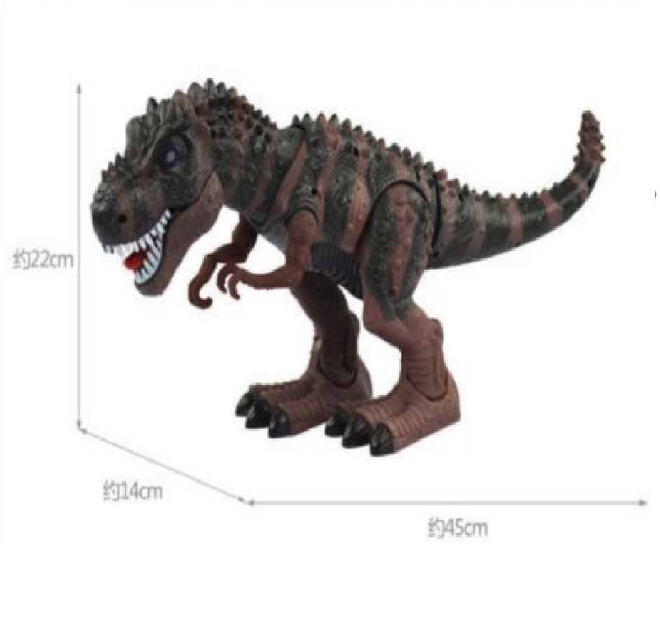 Walking T-Rex Dinosaur  Kids Toy Figure With Lights /& Sounds Real Movement NEW