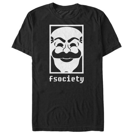 Mr Robot Fsociety Mens Graphic T Shirt