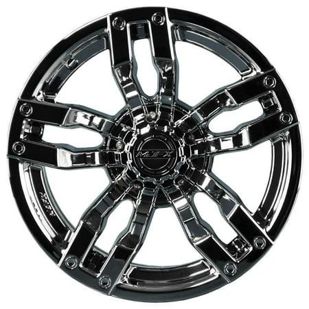 Liquid Metal Velocity Wheel (Madjax Velocity Golf Wheel - Chrome [12x7] (4/4) - (3+4) [19-045] )