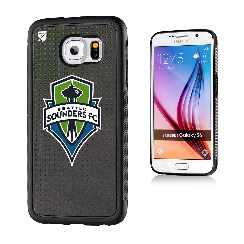 Seattle Sounders Dots Galaxy S6 Bumper Case