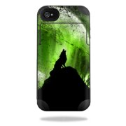 Mightyskins Protective Vinyl Skin Decal Cover for Mophie Juice Pack Plus iPhone 4 / 4S External Battery Case wrap sticker skins Howling Wolf