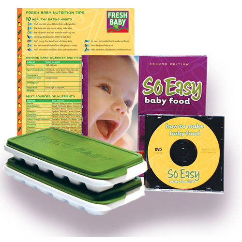 Fresh Baby - So Easy Baby Food Kit, BPA-Free