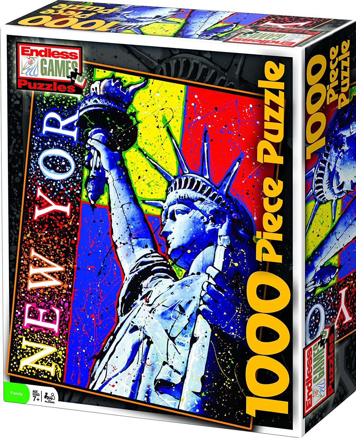 Holton Liberty Drizzle Art Puzzle, 1000 Piece, High quality puzzle By Endless Games by