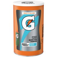 Gatorade Thirst Quencher Powder, Frost Glacier Freeze, 76.5 oz Canister