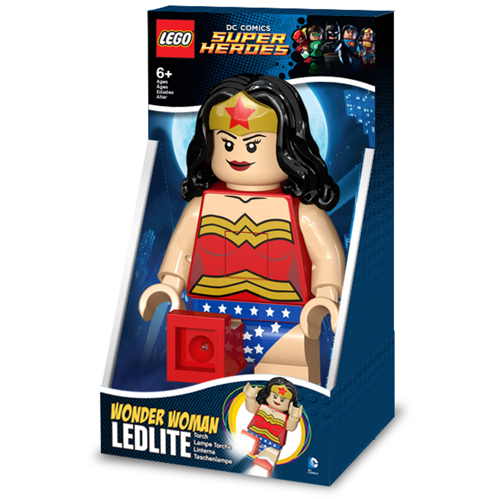 LEGO DC Super Heroes Wonder Woman Torch, Batteries Included