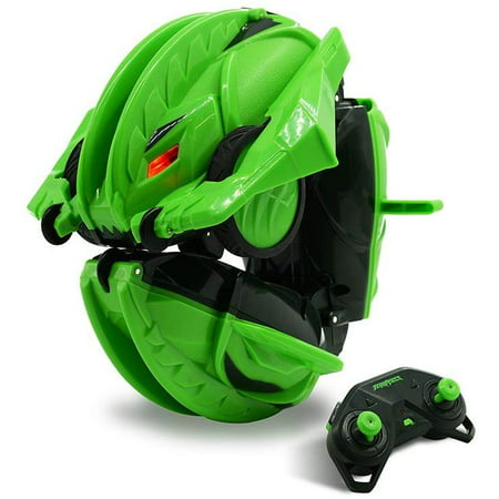 Terrasect Remote Control Transforming Vehicle, Green, 2.4 Ghz