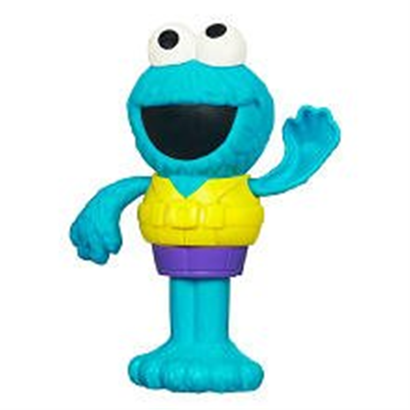 Sesame Street Cookie Monster Silly Swimmer by