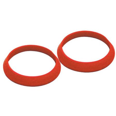 50915K 1.25 in. Rubber Slip Joint TPR Washer, 2 Pack