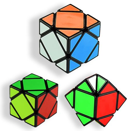 3x3 Intelligence Magic rubix cube game Speed Puzzle Skewb Twisty Magic Cube Black Base Puzzles Develop Brain And Logic Thinking Ability Educational Special Toys best (Easy Steps To Solve A Rubix Cube)