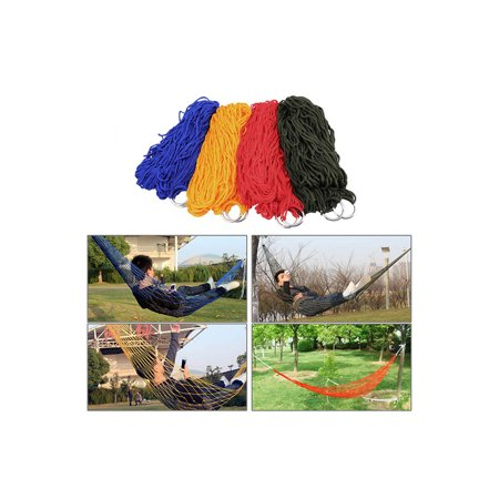 Camp Sleeping Gear Sports & Entertainment Outdoor Camping Mesh Hammock Portable Sleeping Bed Hang Net For Camping Hunting Hiking Garden Travel Furniture