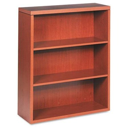 "Hon Valido 11500 Series Bookcase - 36"" Width X 13.1"" Depth X 43.6"" Height - Ribbon Edge - Particleboard - Bourbon Cherry, Laminate (11553AXHH)"