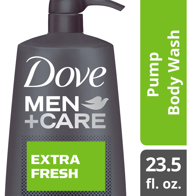 Dove Men+Care Extra Fresh Body & Face Wash, 23.5 fl oz - Walmart.com