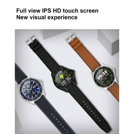 SENBONO S09 Montre Smart Watch Ronde Ecran Tactile Couleur Full IP68 Étanche Rappel de Rappel Podomètre Analyse du Sommeil Fréquence Cardiaque Fitness Surveillance de la Pression Artérielle Plusieurs - image 4 de 7