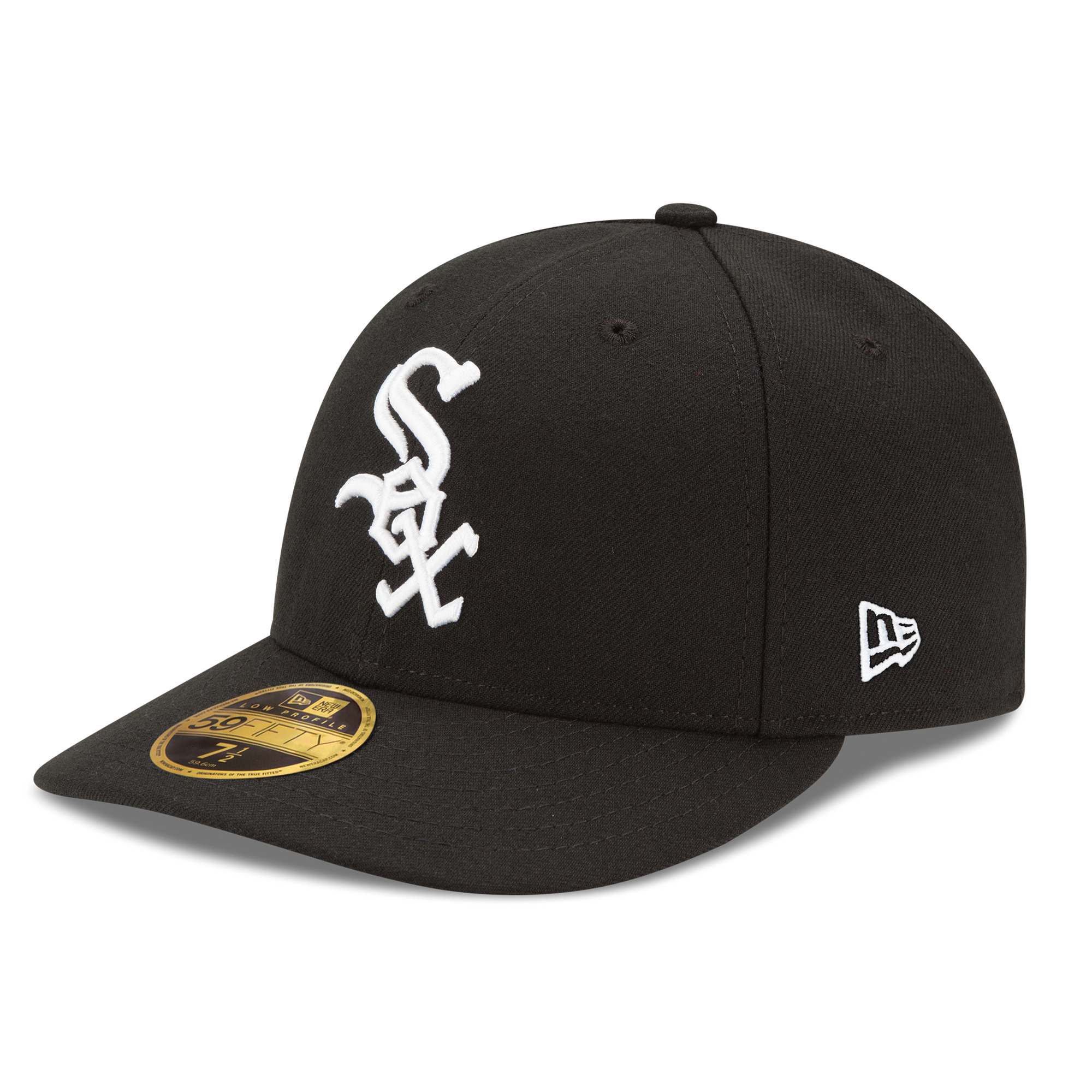 Chicago White Sox New Era Authentic Collection On Field Low Profile Game 59FIFTY Fitted Hat - Black