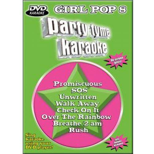 Party Tyme Karaoke: Girl Pop 8 (Music DVD)