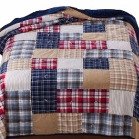 Circo Patches Amp Plaid Stitched Full Queen Bed Quilt