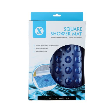 "SlipX Solutions 21"" x 21"" Square Shower Stall Mat"