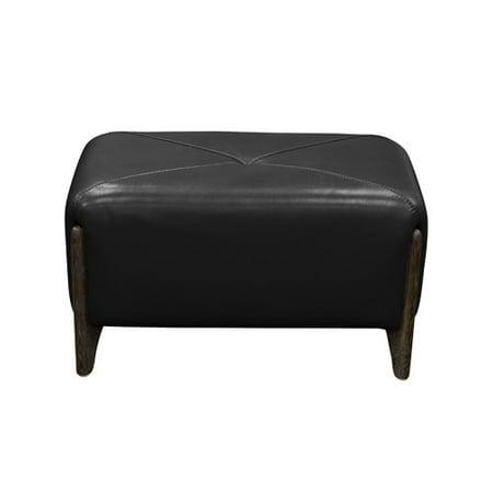 Diamond Sofa Monaco Leather Ottoman
