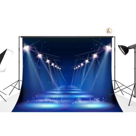 HelloDecor Polyster 7x5ft Hollywood Party Decoration Photo Backdrop photography Backdrop Background studio prop](Cheap Hollywood Decorations)