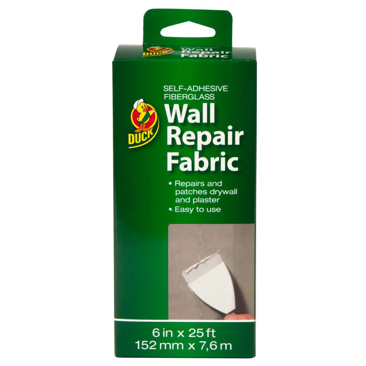 "Duck Brand 6"" Wall Patch and Repair Fabric Tape"