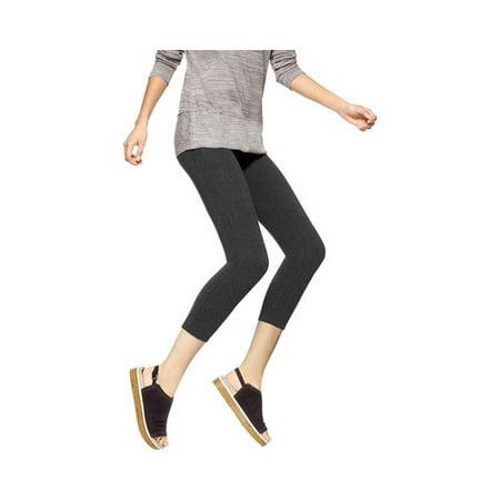 4572726ad3e8 HUE - Women s HUE Temp Control Cotton Capri Legging - Walmart.com