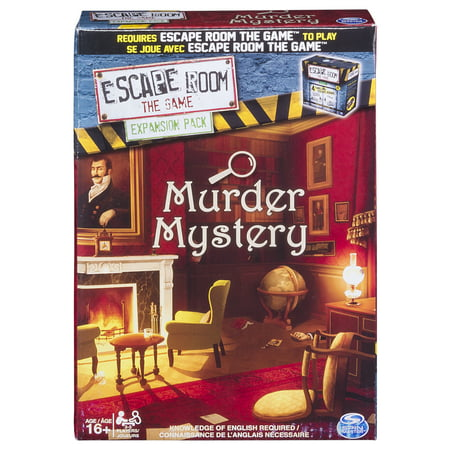 Spin Master Games - Escape Room Expansion Pack - Murder - Halloween Party Mystery Games